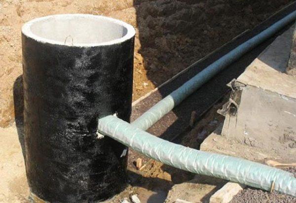 И гидроизоляция стены дома утеплитель