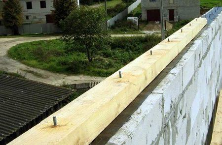 закладка крыши