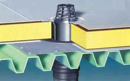 устройство водоотвода на плоской крыше