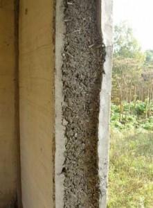 утепление дома опилками