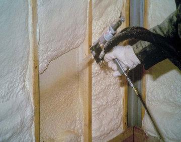 утепление каркасного дома пенополиуретаном