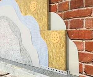 схема утепления стен внутри кирпичного дома