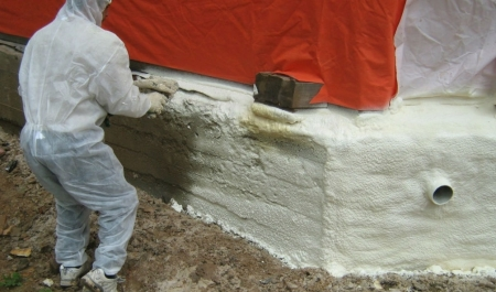 утепление основания дома экструдированным полиуретаном