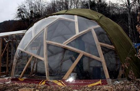 утепление круглого дома