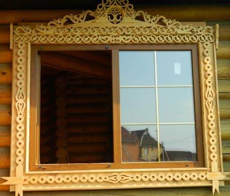 Как сделать наличники на окна