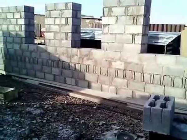 сборка стен