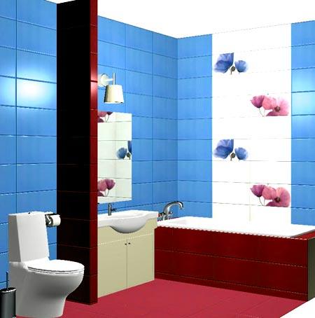 ванная комната проект