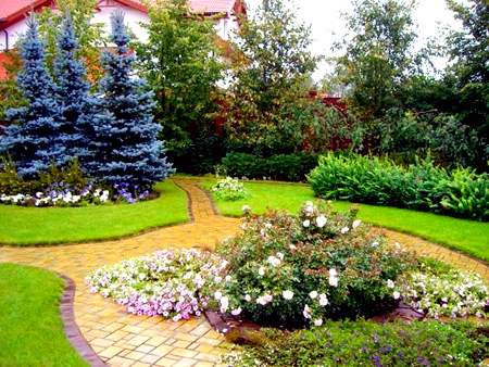 ландшафтный дизайн сад