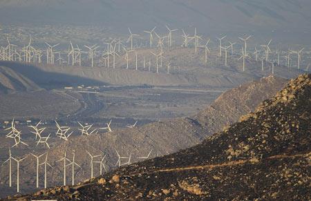 ветряки в Калифорнии