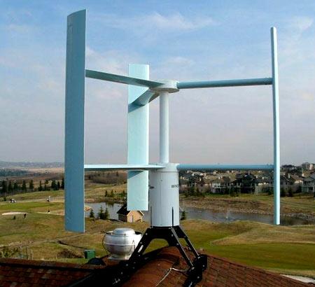 Ветрогенератора для дома своими руками