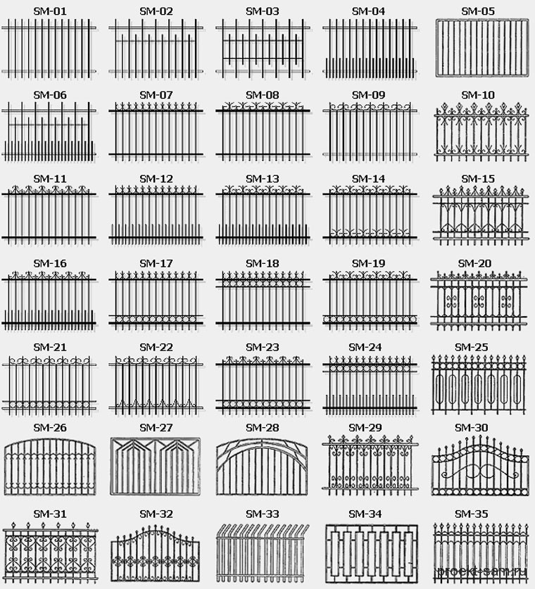 Заборы и ограждения металлические своими руками 6