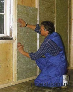 внутреннее утепление стен в частном доме