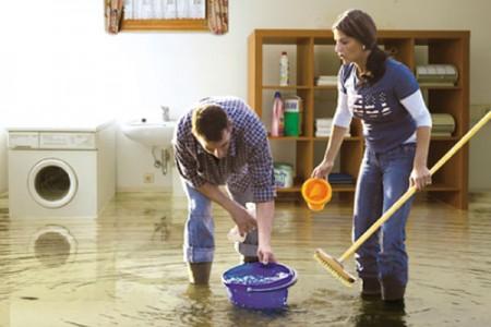 вода в подвале дома