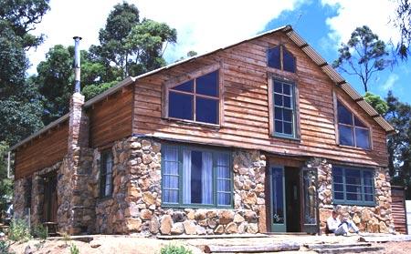 второй деревянный этаж