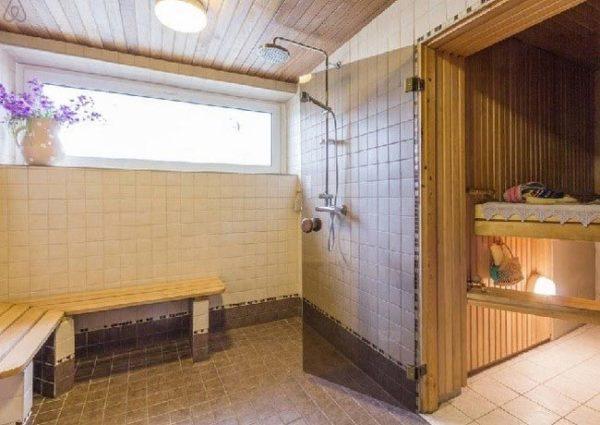 Планировка моечной как сделать душ в бане