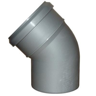 Косой отвод на трубу 110 мм