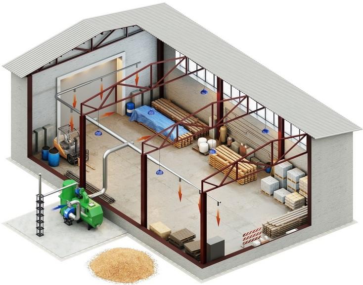 План производственно помещения