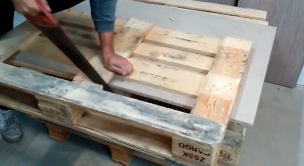 изготовление спинки