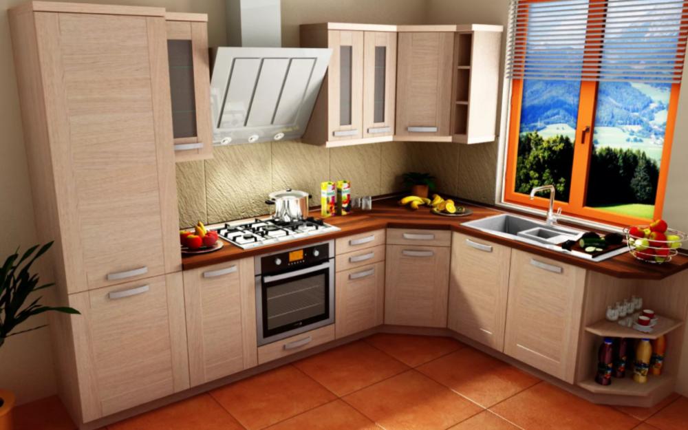 Проект кухни в KitchenDrow
