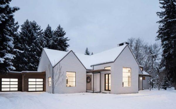 скандинавская отделка дома