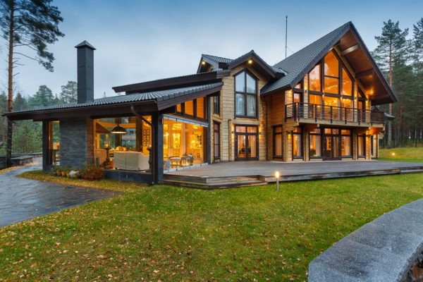 готовый вариант дома