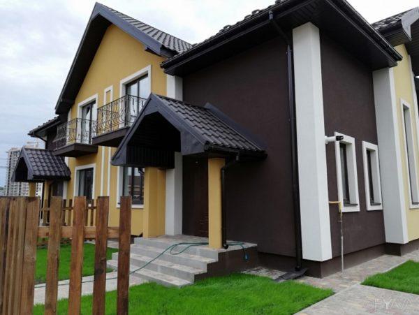 штукатуренный дом