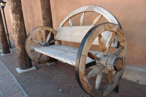 модель из колеса