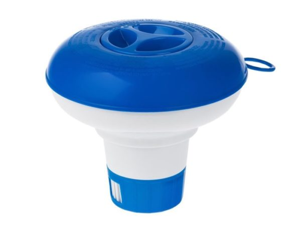 синий дозатор