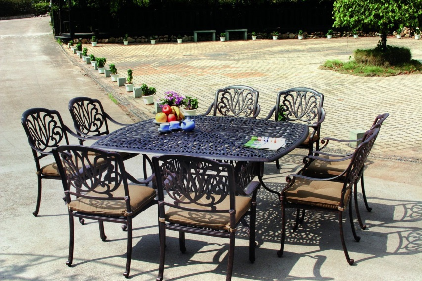 садовая мебель из металла чертежи и фото для изготовление