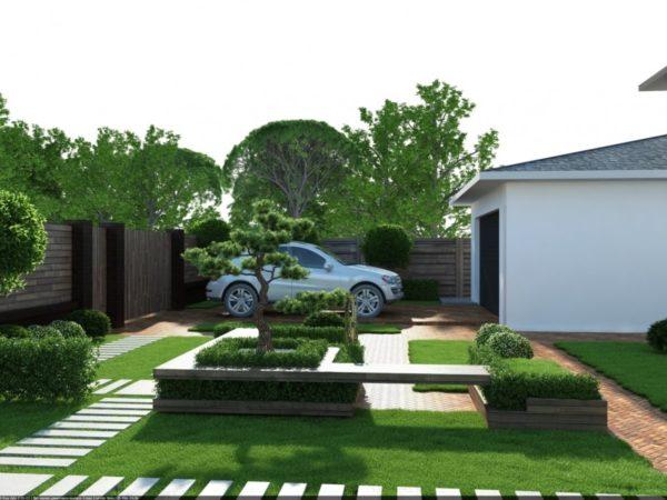 проект двора