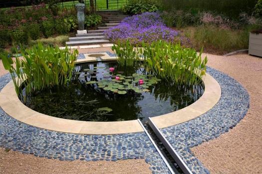 Керамическая плитка для пруда