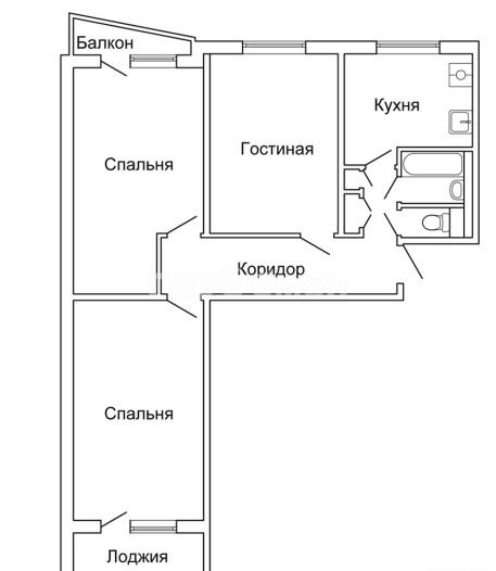 Московская планировка квартиры