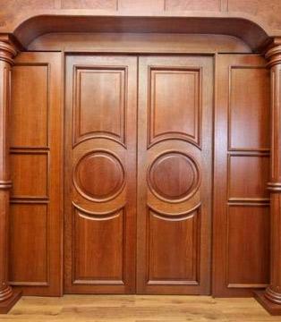 резные двери ясень