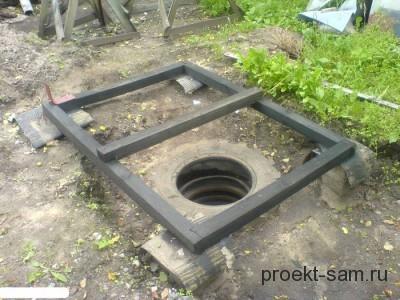 яма для дачного туалета
