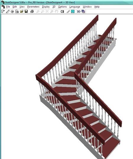проект лестницы StairDesigner 5.08a PRO