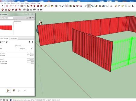 программа проектирование забор