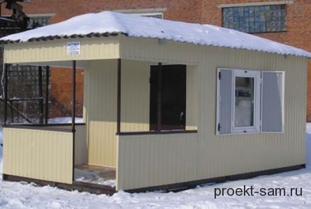 зимняя бытовка для строителей
