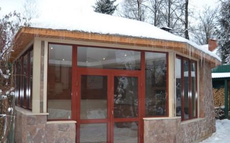зимняя кухня на даче